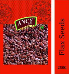 Ancy Foods Premium Dry Fruits (Flax Seeds/Alsi )(Pack of 1x250g)