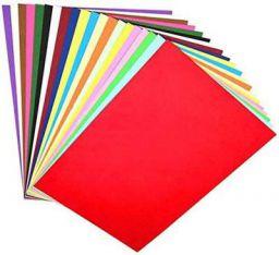 OFIXO 100 Pieces A4 Color Paper (10 Sheets of Each Color) Multi-Color Thin Paper