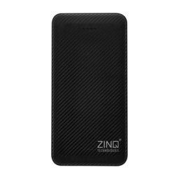 Zinq 10000mAh Li-Polymer Power Bank with 12W Fast Charge Type C & Micro USB Input ZQ10KPC (White)