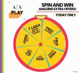 Ajio Spin & Win Contest: Win Exciting Rewards