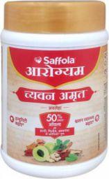 Saffola Arogyam Chyawanamrut includes Chyawanprash, haldi & Ayushkwath Kadha ingredients - 500gm