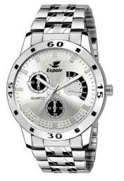 Espoir Chronograph NOT Working Analog White Dial Men's Watch - ES 109