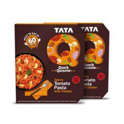 Tata Q Saucy Tomato Pasta with Chicken, 2 x 305 g