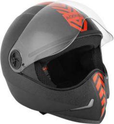 Steelbird SB-50 Adonis Dashing Motorbike Helmet (Red, Black)