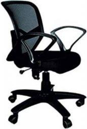 VIZOLT SUPER 4G UB MESH OFFICE CHAIR Fabric Office Executive Chair  (Black)