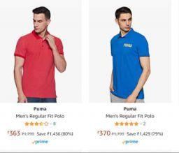 Puma Men's Polo Upto75% Off