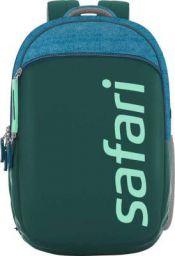 SAFARI Medium 29 L Backpack SPREEUSB 19 CASUAL BACKPACK BLUE (Green, Blue)