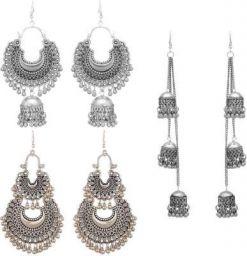 Victoria's Den Combo of 3 Designer Traditional Stylish Alloy Drops