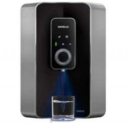 (Renewed) Havells Digi Plus 7-litres RO UV Water Purifier (Black)