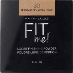 MAYBELLINE NEW YORK Fit me Loose Finishing Powder Compact (30 Medium Deep, 20 g)