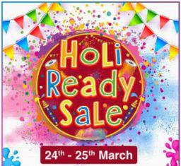 Jiomart Holi Ready Sale: 24-25 March