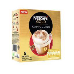 Nescafe Gold Cappuccino Instant Coffee Premix, 125g (5 sachets)