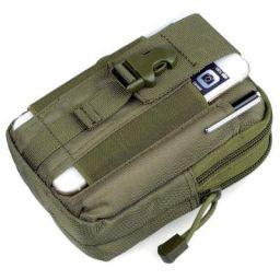 GOCART WITH G LOGO Men's Nylon Outdoor Tactical Waist Bag EDC Molle Belt