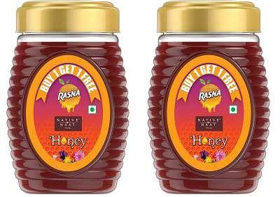 Rasna Native Haat, Honey, 1 kg (Buy 1 Get 1)