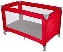 Amazon Brand - Solimo baby Crib/Cot, Red