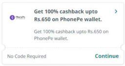 Pharmeasy: Get 100% cashback upto Rs.650 on PhonePe wallet