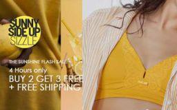 Zivame Sunshine Flash Sale: Buy 2 Get 3 Free + Free Shipping