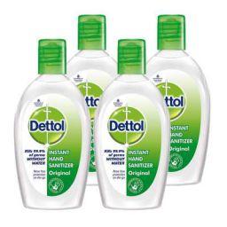 Dettol Alcohol based Hand Sanitizer, Original, 50ml