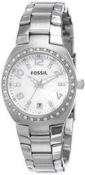 Fossil Analog Silver Unisex Watch AM4141