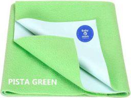 BABY & MOM COMPANY® Waterproof Dry Sheet (Small (50cm x 70cm), Light Green)
