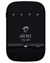 Airtel AMF-311WW Data Card (Black), 4g Hotspot Support with 2300 Mah Battery