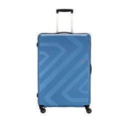 Kamiliant by American Tourister KAM Kiza Polypropylene 79 cms Hardsided Check-in Luggage (KAM KIZA SP 79CM - ASH BLUE)