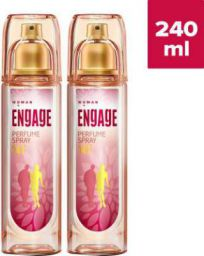 ENgAgE Perfume Body Spray - For Women, Deodorant Spray  (120 ml, Pack of 2)