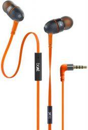 boAt Bassheads 225 in-Ear Wired Earphones with Mic(Molten Orange)