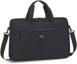 """RivaCase Regent 8037 Black Laptop Bag 15.6"""" Inches"""