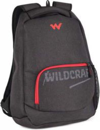 Wildcraft Medium 25 L Laptop Backpack Maven  (Black)