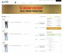 Buy 3 Mens Jeans at Rs.1027