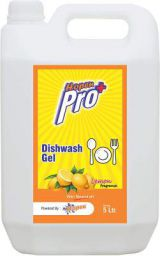 Hopen Dishwash Gel 5 L - Lemon Dishwash Liquid - Manual Dish Wash Gel