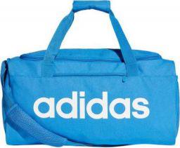 ADIDAS 18 inch/45 cm Lin Core Duf S Travel Duffel Bag (Blue)