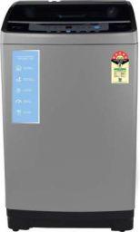 MOTOROLA 8 kg Smart Wi-Fi Enabled Inverter Technology Fully Automatic Top Load Washing Machine Grey(80TLIWBM5DG)