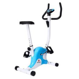 Endless EL001-02 4Kg Flywheel Upright Bike/Exercise Bike for Home Gym (Blue/White)