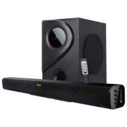 Zebronics Zeb-Juke Bar 5 Multimedia Sound Bar with Bluetooth Connectivity,USB Input and Built-in FM