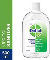 Dettol Instant Hand Sanitizer Bottle  (500 ml)