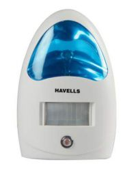 Havells AHNPEXW000 Energy Saving LED Lamp with PIR Sensor (White with Blue Light)