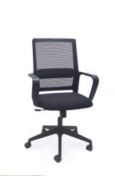 SOS Spacewood LiteOffice Aeon Mesh Back Nylon Base Office Chair (Black)