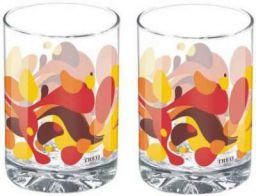 Treo (Pack of 2) D Ziner Torrent Glass Set (210 ml, Glass)