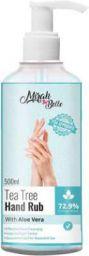 Mirah Belle Tea Tree - Aloe Vera Hand Rub Sanitizer - 500 ML
