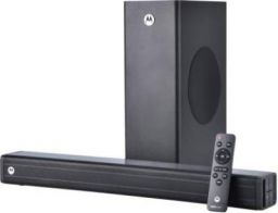 Motorola AmphisoundX with HDMI ARC 100 W Bluetooth Soundbar (Black, 2.1 Channel)