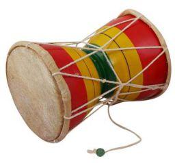 Nawaab 6 Inch Damru Hand Percussion Handmade Indian Musical Instrument