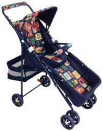 New Born Cry Pram_navy Twin Strollers & Prams  (2, Navy Blue)
