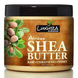 Luxura Sciences African Raw Shea Butter Unrefined Organic Ivory (200 Gms) Body Moisturizer