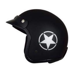 (Renewed) Autofy O2 Front Open Helmet (Black and Grey M)
