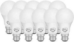 Pigeon LED 9 W Standard B22 LED Bulb (White, Pack of 10)