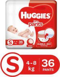 Huggies Dry pants diapers at Rs.149 (Pack of 36)