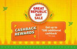 Cashback Rewards: Collect Prime Exclusive cashback Offer Great Republic Day sale