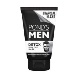 POND'S Men Charcoal Blackhead Removal Detox Peel Off Mask 75 g